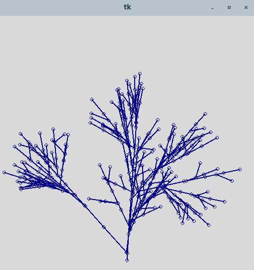 The 8-bit inspiration part 1: drawing trees